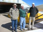 Alex_P_PP_chk_3_19_16.jpg - <p>Alex P. (right), successful Private Pilot Glider check ride, with CFI Howie S. (left) and examiner Bob E. (center), March 19, 2016</p>
