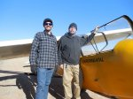 Justin Lundberg-Neff and Derek KrugerFirst Solo 11_26_16.jpg - Derek K. and Justin L. - First Solo, November, 2016