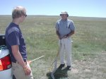 Noah and Howie on winch day.JPG - <p>Noah P and Howie S setting up a winch launch - June 2010</p>