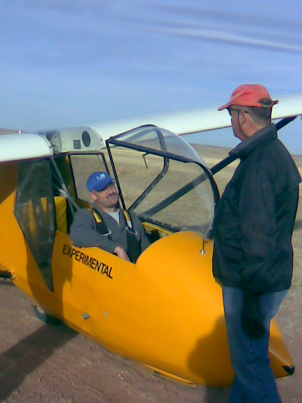 Student and Instructor discuss flight